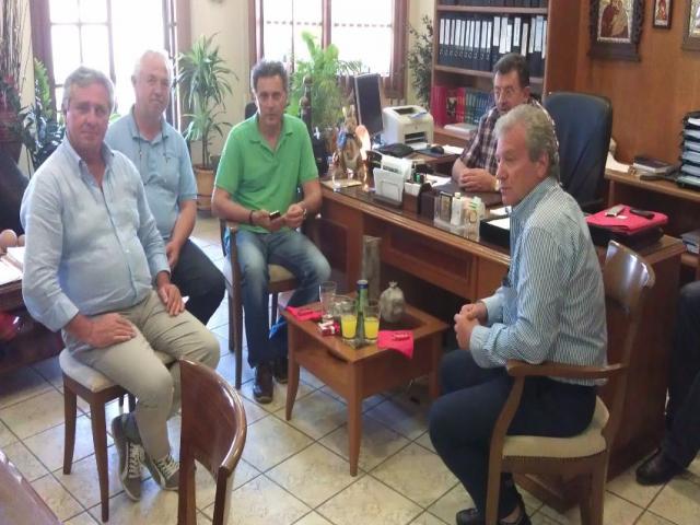 Επίσκεψη Ιταλών 2012-06-18