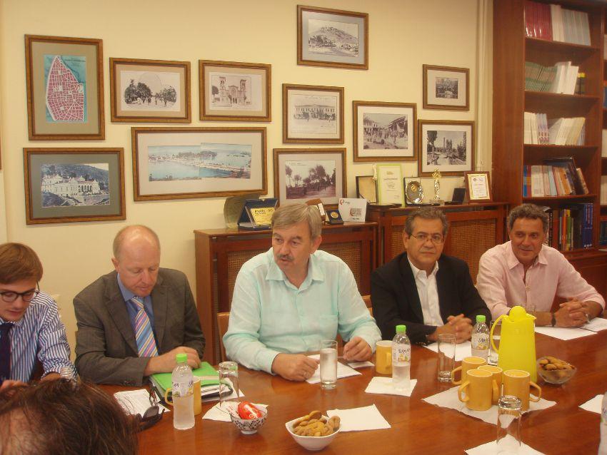Συνάντηση με Γερμανό Πρέσβη 2012-09-17
