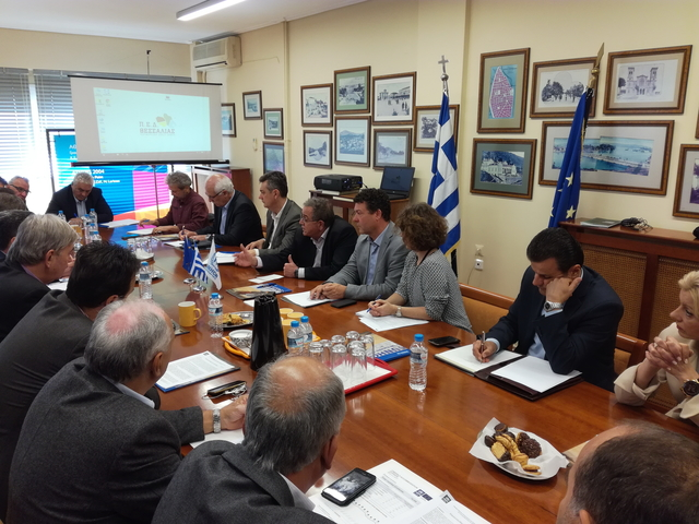 Συνάντηση Δημάρχων με Υπουργό Μεταναστευτικής Πολιτικής και εκπροσώπους της Ύπατης Αρμοστείας