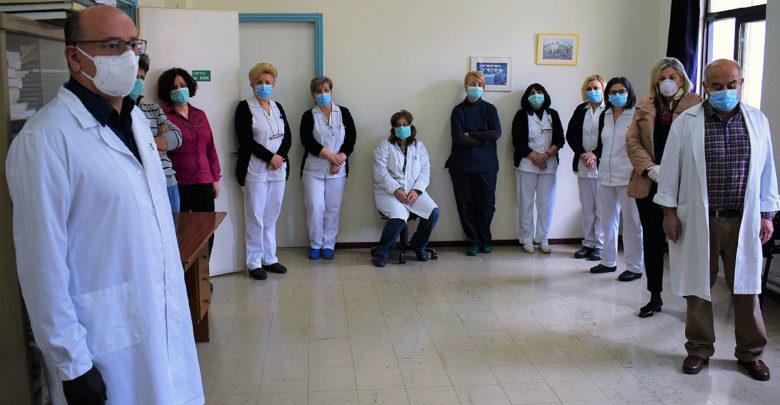 Υγειονομικό Υλικό παρέδωσε ο πρόεδρος της ΠΕΔ Θεσσαλίας