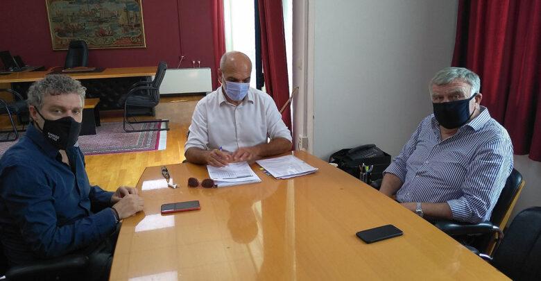 Επίσκεψη στο Δήμο Αλμυρού